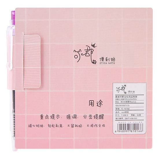 Thumb của hình Giấy Note + Bút K-16162 - 60 Tờ (Mẫu Ngẫu Nhiên)