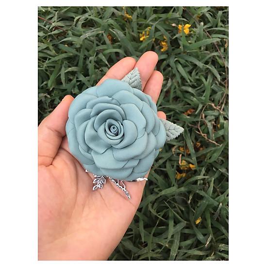 Kết quả hình ảnh cho nhan do hoa cài áo handmade