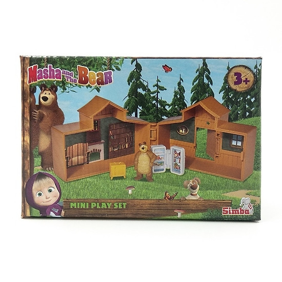 Đồ Chơi Mô Hình Mini Play Set Masha And The Bear 109301039