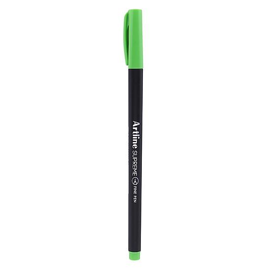Bút Lông Kim Artline Supreme (0.4mm) - Vàng Chanh