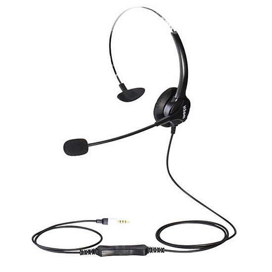HION FOR600C call center operator headset customer service headset single ear 4 single plug