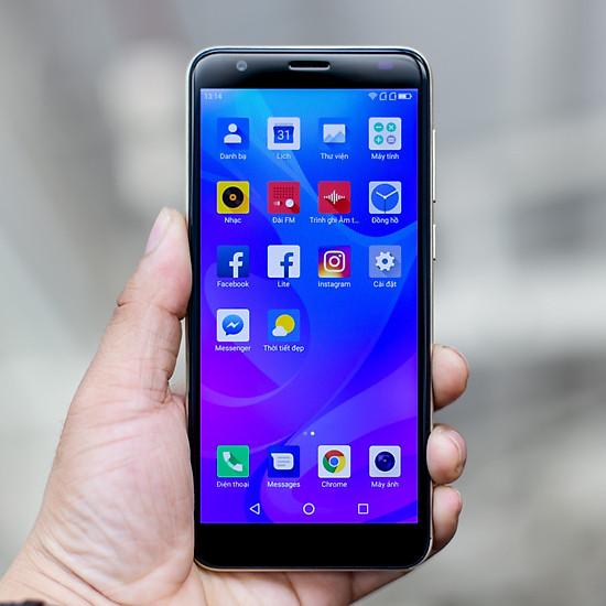 Điện Thoại Smartphone Cấu Hình Cao Chơi Game Tốt Coolpad N3C 1803 (Golden) Màn Hình HD+ IPS Chip 4 Nhân - Tặng Kèm Ốp Lưng + Kẹp Điện Thoại Thông Minh.