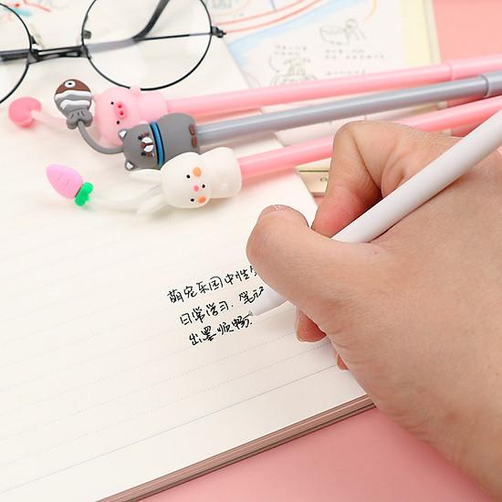 Bút Mực Nước Kiểu Dáng Xinh Xắn Dễ Thương (Mực Đen)