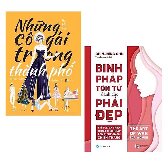 Combo 2 Cuốn Sách Tư Duy - Kỹ Năng Sống Làm Thay Đổi Phái Đẹp: Những Cô Gái Trong Thành Phố + Binh Pháp Tôn Tử Dành Cho Phái Đẹp / Tặng Kèm Bookmark Thiết Kế Green Life