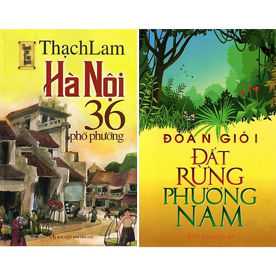 Combo Truyện: Hà Nội 36 Phố Phường, Đất Rừng Phương Nam