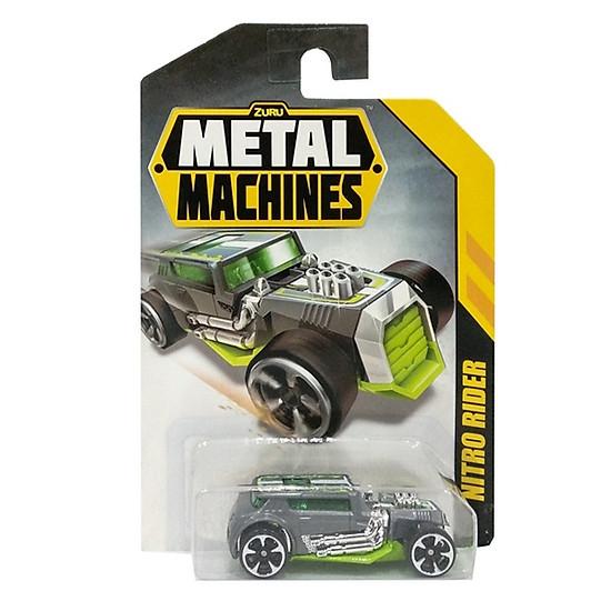 Đồ Chơi Xe Đua Tốc Độ 3 Inch Zuru Metal Machines 6708 - Nitro Rider - Màu Xám