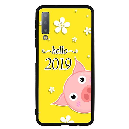 Thumb của hình Ốp Lưng Viền TPU cho điện thoại Samsung Galaxy A7 2018 - Pig 2019