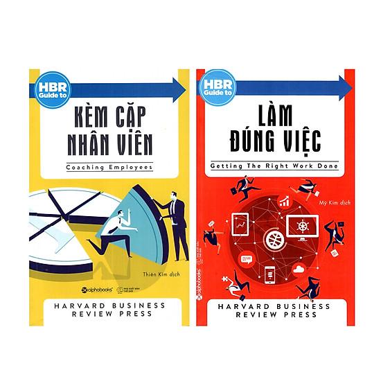 Combo Sách Kỹ Năng Làm Việc : HBR GUIDE - Kèm Cặp Nhân Viên + HBR GUIDE - Làm Đúng Việc