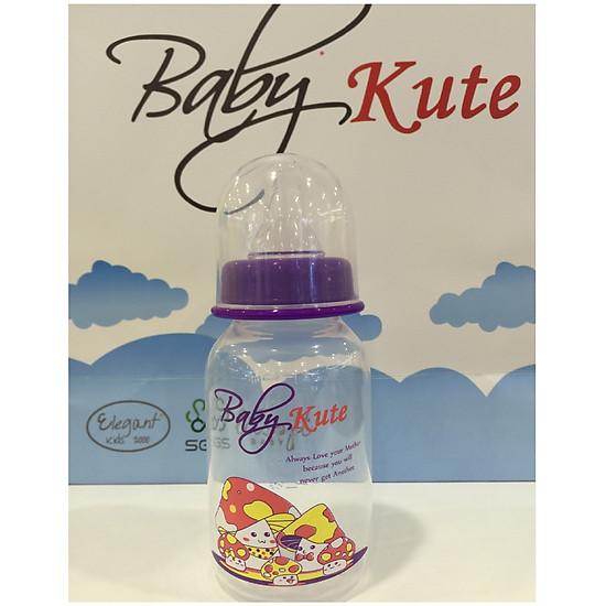 Bình sữa bằng nhựa PP Baby Kute 125ML