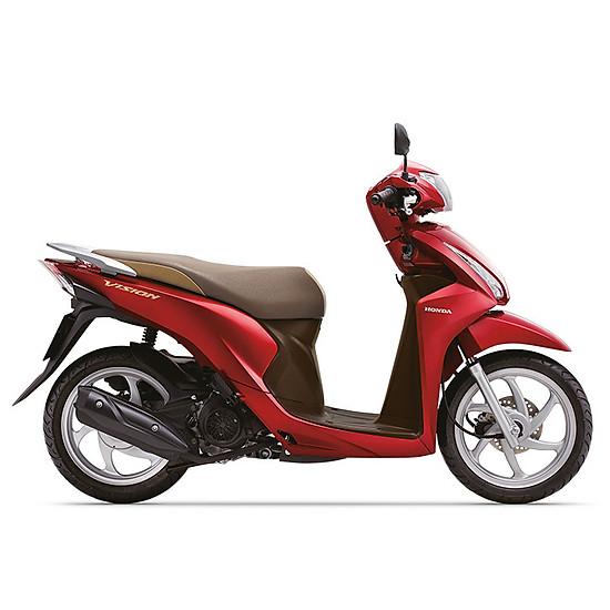 Xe máy Honda Vision 2019 Bản cao cấp Smartkey - Đỏ=32.990.000 ₫