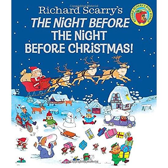 Hình đại diện sản phẩm The Night Before the Night Before Christmas! (Richard Scarry)