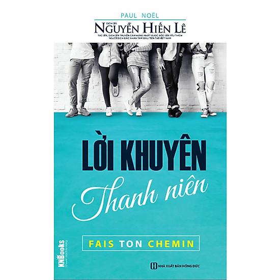 Lời Khuyên Thanh Niên (Bộ sách Cha Mẹ Khéo – Con Thành Công) tặng Bookmark tuyệt đẹp</spa