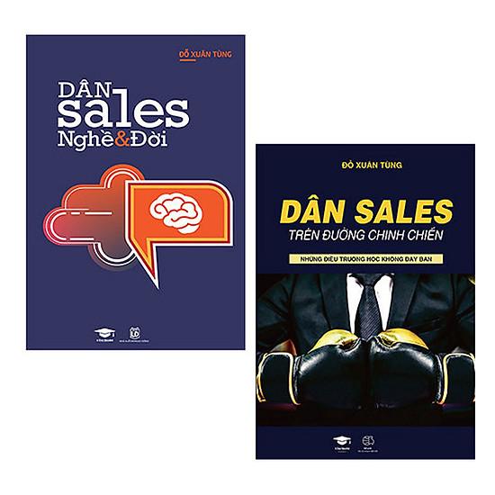 Combo 2 cuốn Dân Sales