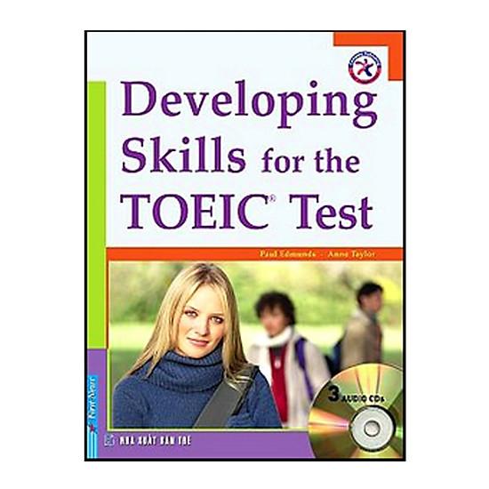 Hình đại diện sản phẩm Developing Skills For The TOEIC Test - Kèm 3CD (Tái Bản 2018)