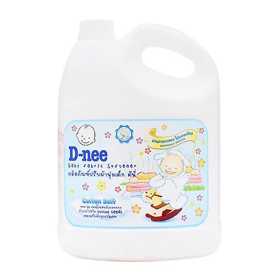 Nước xả quần áo D-nee Pure & Sensitive (Trắng) 3000ml