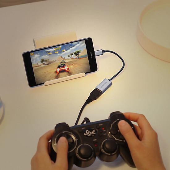 Thumb của hình Cáp Chuyển Đổi Type-C Sang USB OTG Ugreen - Đen
