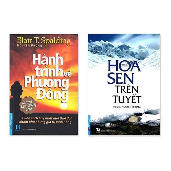 Bộ sách Hành Trình Phương Đông & Hoa sen trên tuyết