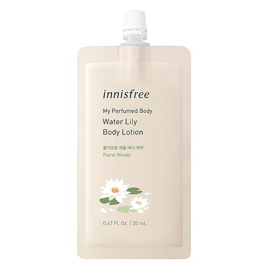 Sữa Dưỡng Thể Hương Nước Hoa Innisfree My Perfumed Body Lotion (20ml) - Waterlily