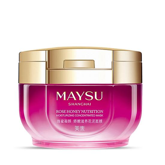 Hình đại diện sản phẩm (MAYSU) honey honey condensate Yan delicate nourishing flower mud mask 90g (water mask moisturizing moisturizing SPA tender and tender)