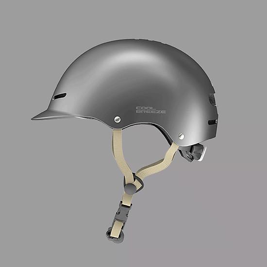 Mũ Bảo Hiểm Xiaomi Youpin Himo K1 Thoáng Mát Chắc Chắn Kháng Khuẩn Chống Ẩm - Xám-0