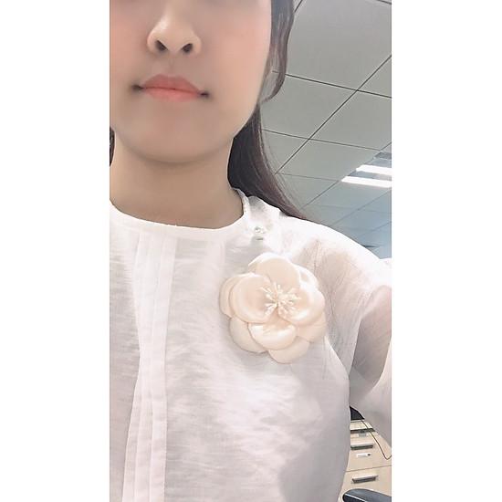 Kết quả hình ảnh cho hoa vải cài áo handmade