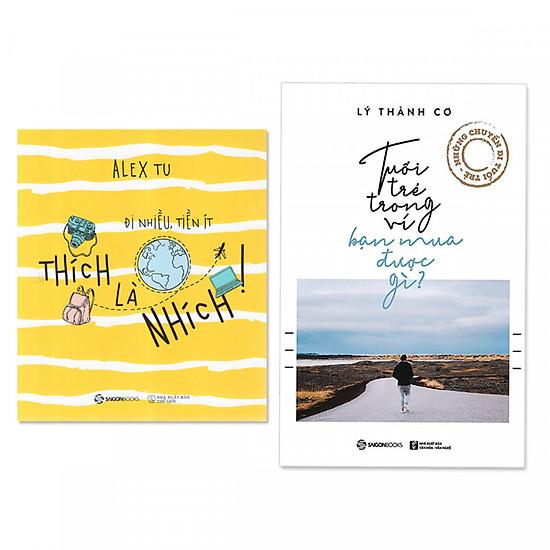 Combo sách hay dành cho bạn trẻ: Tuổi Trẻ Trong Ví, Bạn Mua Được Gì?  + Thích là nhích