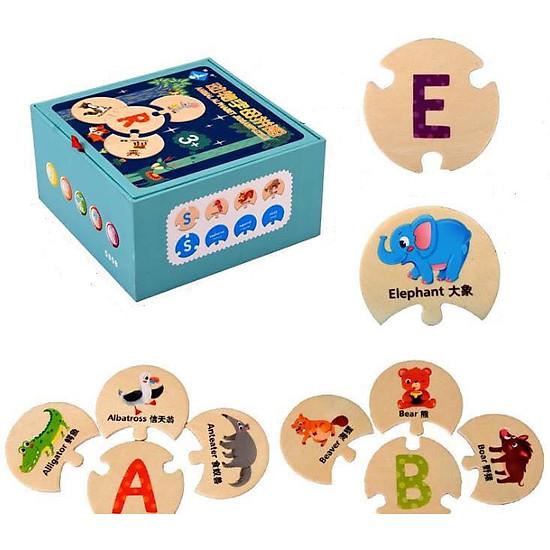 Đồ chơi thông minh,  tương tác lắp ghép giúp bé nhận biết nhanh chữ cái, từ vựng tiếng anh