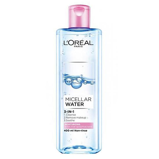 Nước Tẩy Trang Dưỡng Ẩm L'Oreal Paris Micellar Water (400ml)