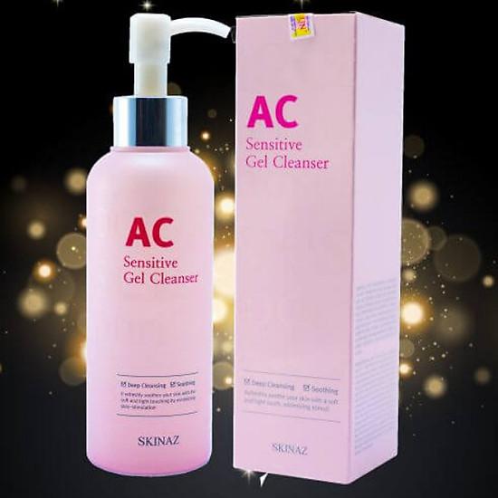 Sữa Rửa Mặt AC Skinaz Sensitive Gel Cleanser Hàn Quốc
