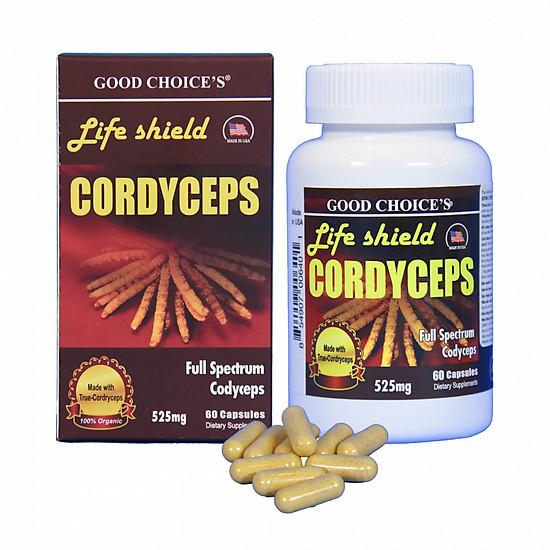 Thực phẩm chức năng Đông trùng hạ thảo - Life shield Cordyceps