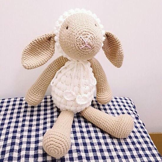 Thú Len Móc Tay Hình Cừu