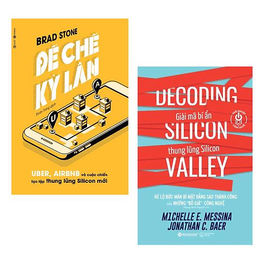 Combo 2 Cuốn Sách Giúp Bạn Khởi Nghiệp Thành Công: Đế Chế Kỳ Lân: Uber, Airbnb Và Cuộc Chiến Tạo Lập Thung Lũng Silicon Mới + Giải Mã Bí Ẩn Thung Lũng Silicon / Tặng Kèm Bookmark Happy Life