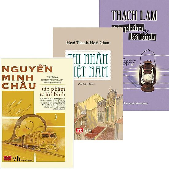 Combo Thạch Lam - Nguyễn Minh Châu - Thi Nhân Việt Nam (Tái Bản)