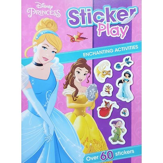 Disney Princess Sticker Play