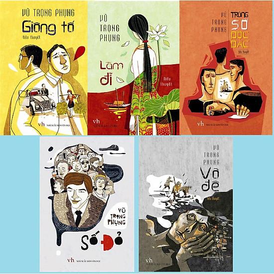 Combo 5 Cuốn Sách : Làm Đĩ + Số Đỏ + Giông Tố + Trúng Số Độc Đắc + Vỡ Đê