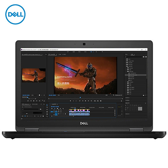 Dell (DELL) design this Precision3530 15.6-inch mobile workstation notebook I7-8750H/8G/256G+1T/P600 4G/W10H/high score screen