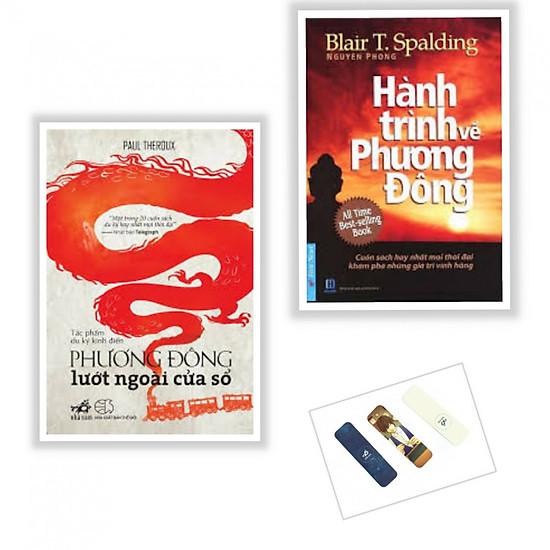 Combo 2 cuốn Phương Đông Lướt Ngoài Cửa Sổ + Hành Trình Về Phương Đông ( Tặng kèm bookmark)