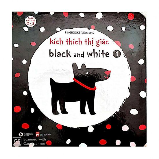 Kích Thích Thị Giác Black And White 1 (Bìa Cứng)