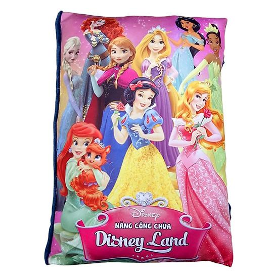 Gối Sách Vải Pipovietnam Các Nàng Công Chúa Disney