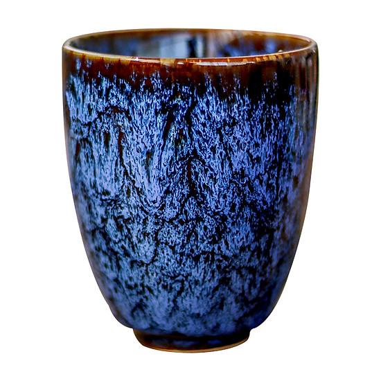 Cốc uống trà bằng sứ kiểu cổ điển phong cách Trung Quốc 200ml - Mẫu 3-1