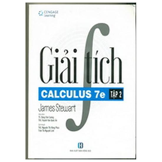 Giải Tích – Tập 2 – Calculus 7e