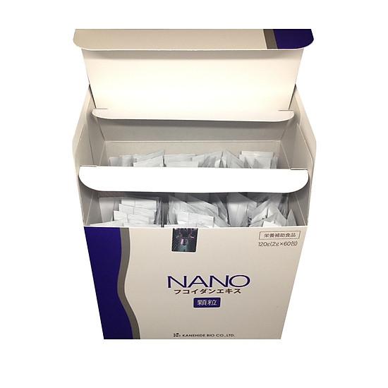 Thực Phẩm Chức Năng Nano Fucoidan Phòng Và Hỗ Trợ Điều Trị Ung Thư Kanehide Bio Nhật Bản(60 Gói)
