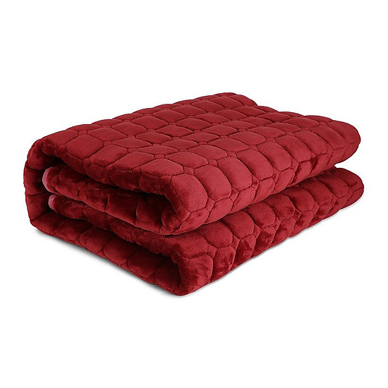 Thảm nhung trải giường mùa đông 1m6 x2m(Ngẫu nhiên)