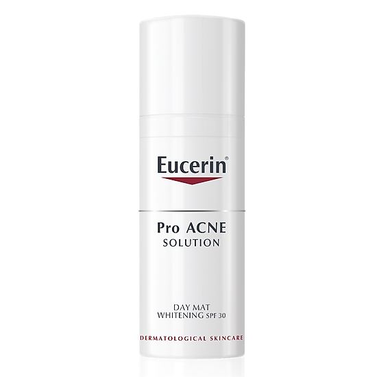 Image result for Eucerin Pro Acne Day Mat Whitening SPF 30