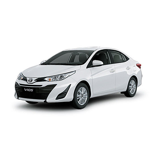Xe Ô Tô Toyota VIOS 1.5E (MT) - Trắng