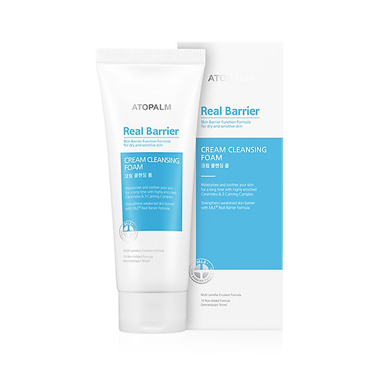 Image result for Real Barrier Cream Cleansing Foam
