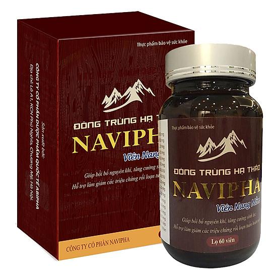 Thực Phẩm Chức Năng Đông trùng hạ thảo Navipha 60 viên nang mềm