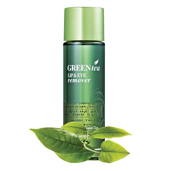 Tẩy Trang Mắt Môi Chiết Xuất Trà Xanh MCC Cosmetics Greentea Lip & Eye Remover TAY_GRELER_MATMOI (100ml)
