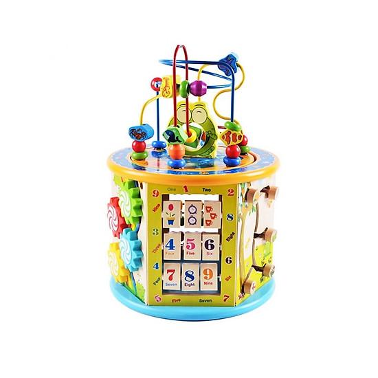 Đồ chơi gỗ – Hộp đa năng 8n1, tích hợp hoàn hảo cho bé phát triển kỹ năng toàn diện</span