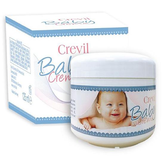 Kem chống hăm, chống nẻ, bảo vệ da trẻ em Crevil Baby Crème 125ml